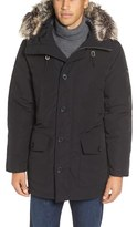 Michael Kors Men's Faux Fur Trim Down & Feather Fill Snorkel Parka
