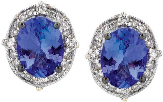 LeVian Le Vian 14K 2.23 Ct. Tw. Diamond & Tanzanite Earrings