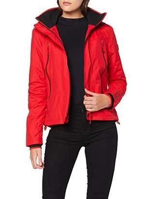 Superdry Women's Velocity Arctic Windcheater Jacket, (Size: Small)