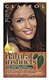 Clairol Natural Instincts, 4BZ / 27A Double Espresso Dark Bronze Brown, Semi-Permanent Hair Color, 1 Kit