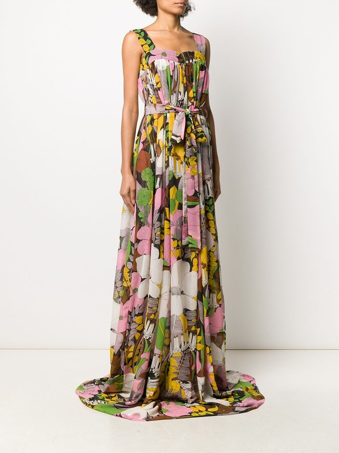 Thumbnail for your product : La DoubleJ Mimosa floral print dress
