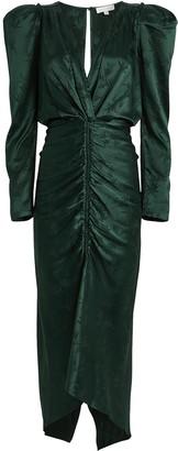 Ronny Kobo Astrid Ruched Jacquard Dress