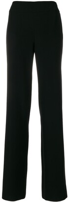 Emporio Armani High Waisted Tailored Trousers
