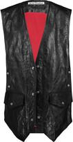 Acne Studios Carletta crinkled-leather vest