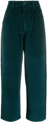 L'Autre Chose Cropped Corduroy Trousers
