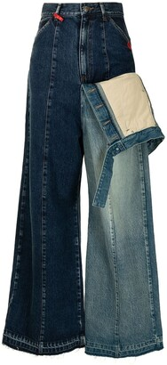 Maison Mihara Yasuhiro Multi-Panel Design Denim Jeans