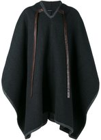 Dolce & Gabbana hooded cape