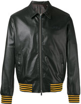 Golden Goose Deluxe Brand Coach jacket - men - Cotton/Leather/Polyester/Viscose - L