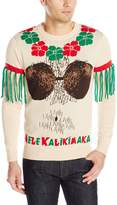 Alex Stevens Men's Mele Kalikimaka Ugly Christmas Sweater