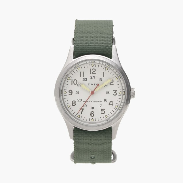 J.Crew Timex® for vintage field army watch