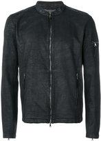 John Varvatos zipped jacket