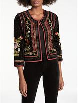 Velvet by Graham & Spencer Adara Embellished Jacket, Multi
