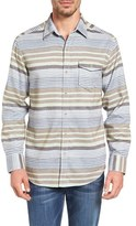 Tommy Bahama Men's Breaker Stripe Standard Fit Sport Shirt
