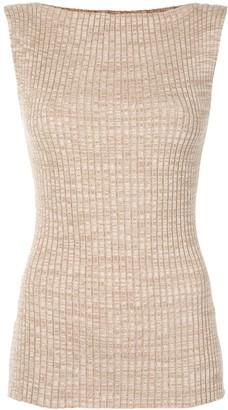 ANNA QUAN Ribbed Knit Top