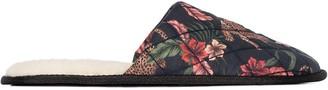 Desmond & Dempsey Jungle Print Slippers