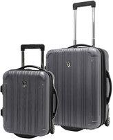 Traveler's Choice Travelers choice New Luxembourg 2-Piece Hardside Wheeled Carry-On Luggage Set