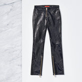 Tommy Hilfiger Biker Leather Trousers