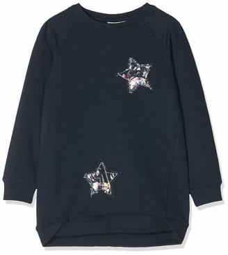 Name It Girl's Nmfrastine Ls SWE Tunic Bru Sweatshirt