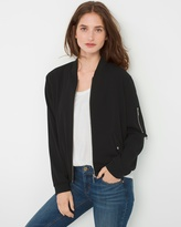 White House Black Market Lightweight Bomber Jacket