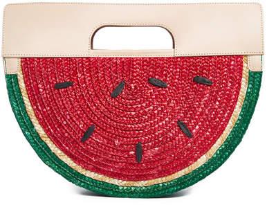 Alice + Olivia Donna Watermelon Half Circular Bag