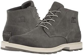 Sorel Madson Chukka Waterproof (Quarry/Fawn) Men's Waterproof Boots