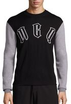 McQ by Alexander McQueen Logo Printed Sweater
