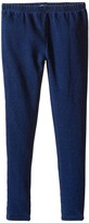 Splendid Littles Indigo Knit Leggings Girl's Casual Pants
