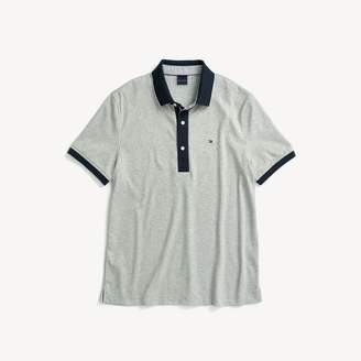 Tommy Hilfiger Custom Fit Heathered Polo