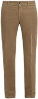 Massimo Alba Straight-leg corduroy trousers