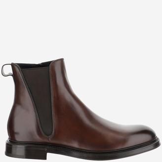 Dolce & Gabbana Zipped Chelsea Boots
