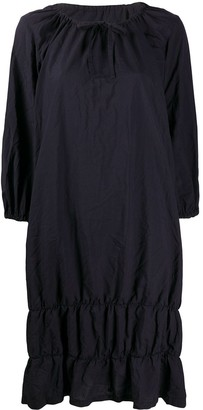 Comme des Garcons gathered tunic dress