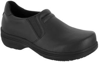 Easy Works By Easy Street Womens Bind Clogs Round Toe