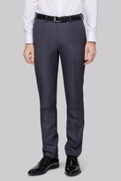 Moss Bros Skinny Fit Grey Dress Pants
