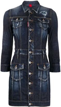 DSQUARED2 Denim Short Dress