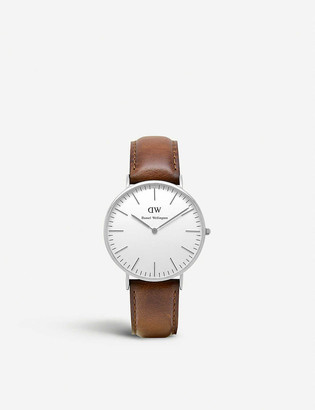 Daniel Wellington Classic St. Mawes stainless steel watch 40mm