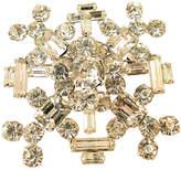 One Kings Lane Vintage 1960s Juliana Geometric Crystal Brooch