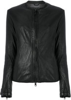 Giorgio Brato collarless zip-up jacket