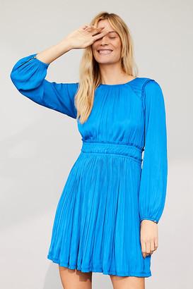 Maeve Saniya Mini Dress By in Blue Size XL