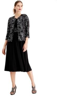 Jessica Howard Glitter Dress & Jacket