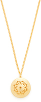 Ben-Amun Simple Gold Locket Necklace