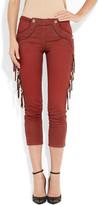 Isabel Marant Rodwell tasseled mid-rise skinny jeans