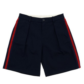 Gucci Wide Shorts With Web Bands