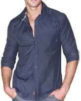 191 Unlimited Men's Solid Black Shirt