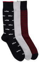 Cole Haan 3-Pair Novelty Socks