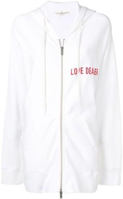 Golden Goose Love Dealer zip-up hoodie