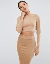 Asos Cord Turtle Neck Top Co-Ord