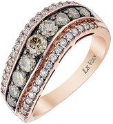 Le Vian Chocolatier Le Vian 14ct Strawberry Gold Vanilla Chocolate Diamond ring
