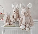 Pottery Barn Kids Taupe Fur Bunny Plush