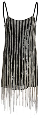 Amen Embellished Fringe Mini Dress