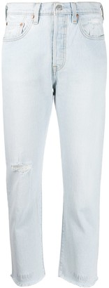 Levi's 501 Shout Out cropped jeans